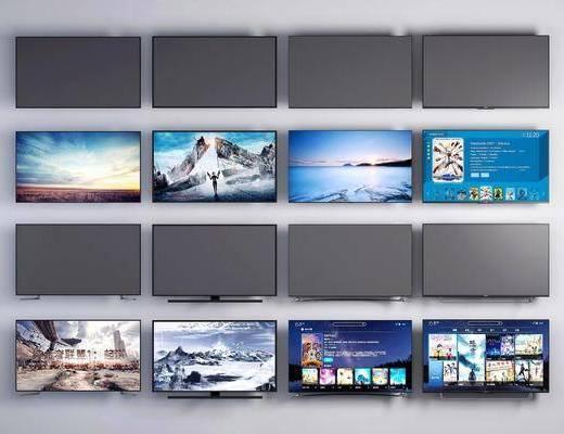 液晶电视, 电视机