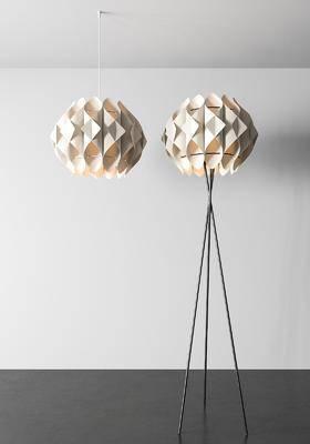 现代, 吊灯, 落地灯, 灯具