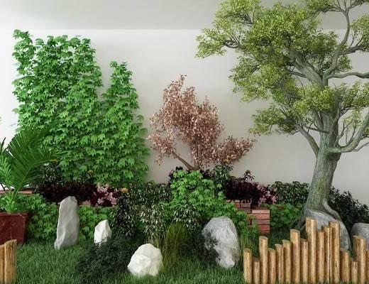 景观小品, 树木, 现代