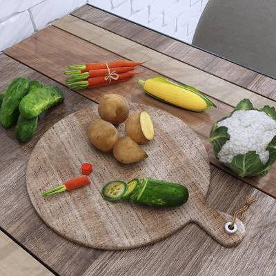 蔬菜, 餐桌
