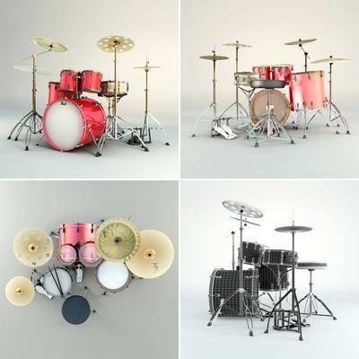 乐器, 架子鼓, 鼓, 现代