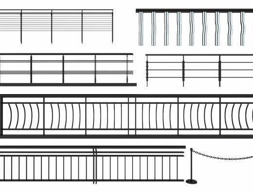 栏杆组合, 现代