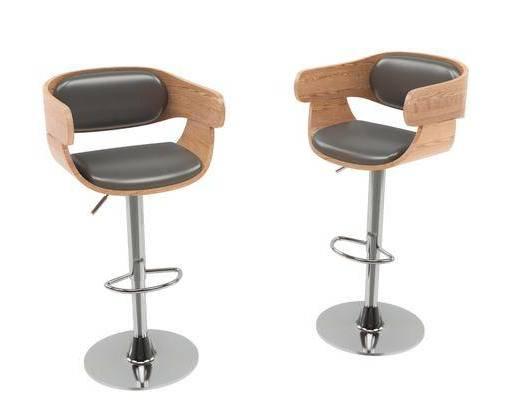 现代, 吧椅, 单椅