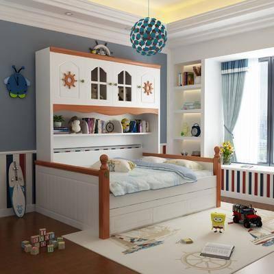 床具组合, 儿童床, 摆件组合, 地中海床具组合