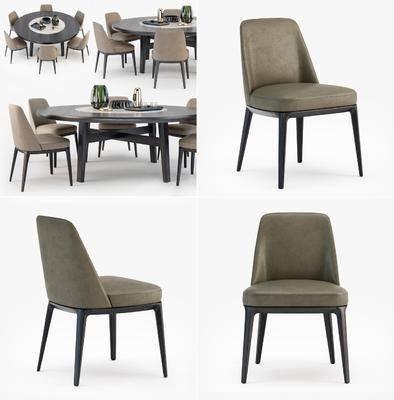 桌椅组合, 现代桌椅, 餐桌椅, 餐桌, 餐具, 摆件, 摆件组合, 现代