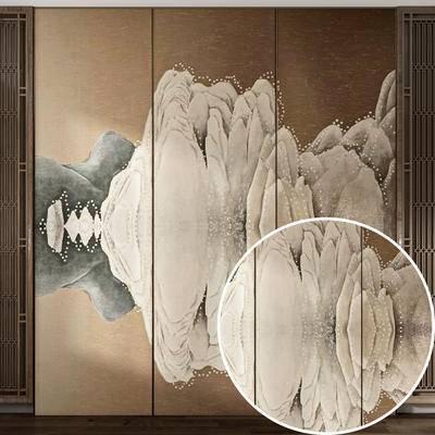 墙纸, 布艺材质
