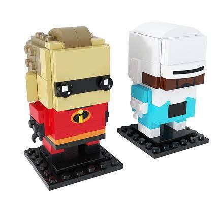 现代超能先生酷冰侠乐高玩具