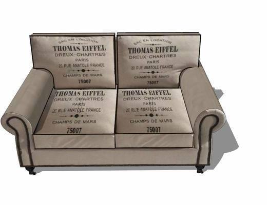 双人沙发, 沙发椅, 休闲椅