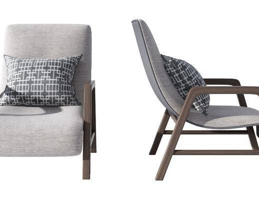 沙发, 组合, 新中式