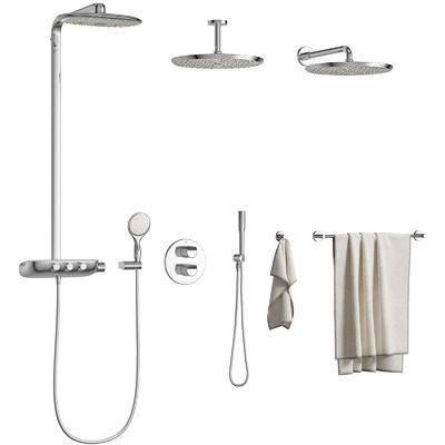 淋浴花洒, 现代花洒, 毛巾, 浴室, 小件组合, 现代