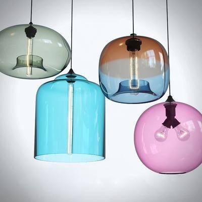 吊灯, 玻璃, 现代