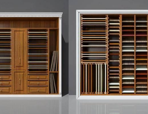 样板柜, 展示柜, 置物柜, 现代样板柜, 现代, 双十一