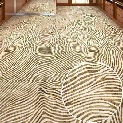地毯, 满铺地毯
