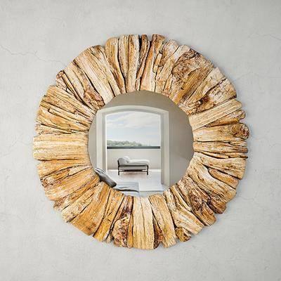 装饰镜, 圆镜, 镜子, 现代