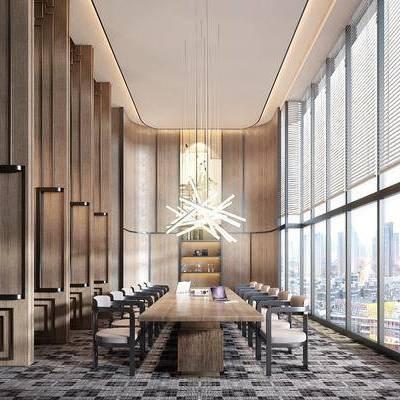 會議室, 新中式會議室, 桌椅組合