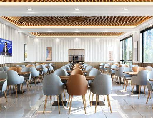 现代员工餐厅