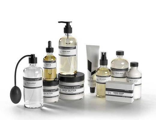 化妆品, 香水, 现代化妆品香水组合, 现代