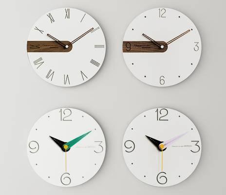现代, 挂钟, 挂饰
