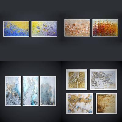 挂画, 抽象画, 现代