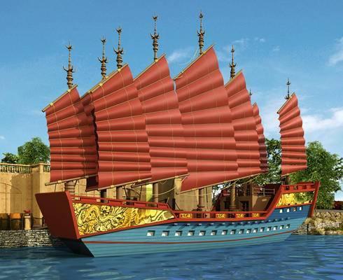 船, 古代船, 战船