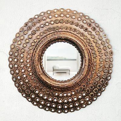 装饰镜, 镜子, 金属镜子, 现代