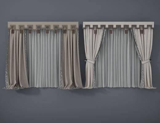 窗帘, 新中式