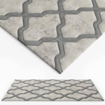 地毯, 绒布地毯, 现代