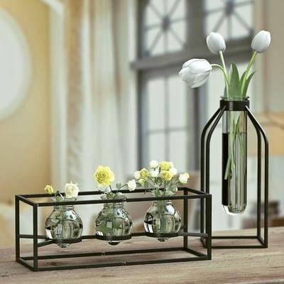 花瓶, 花卉, 摆架, 装饰品, 植物