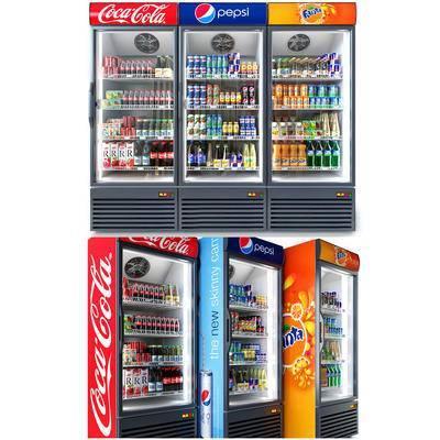 商用冰箱, 冰柜, 饮料柜, 酒水饮料, 现代