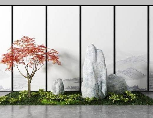 新中式园艺, 景观, 园艺小品
