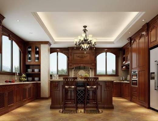 欧式, 厨房