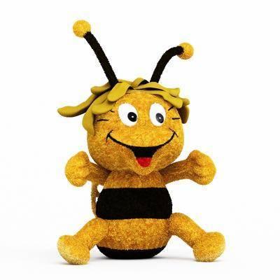 小蜜蜂, 玩具