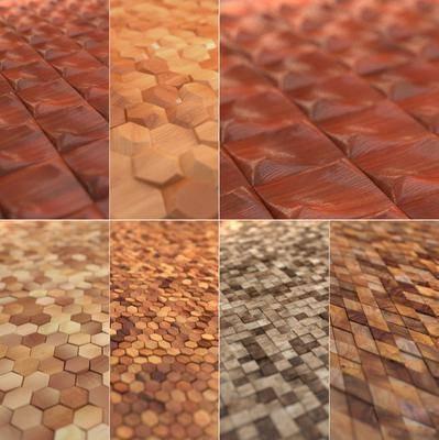 墙面, 地面, 菱形, 现代地面, 现代墙面, 方形, 拼接, 现代, 双十一
