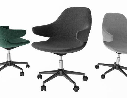 现代办公椅, 简约办公椅