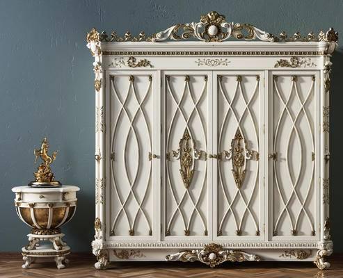 古典衣柜, 欧式衣柜