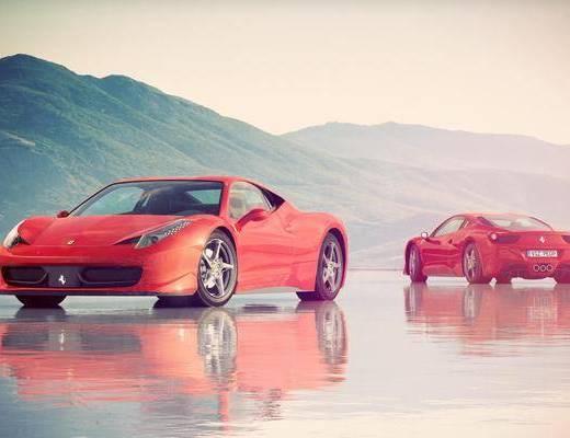 汽车, 法拉利, 现代