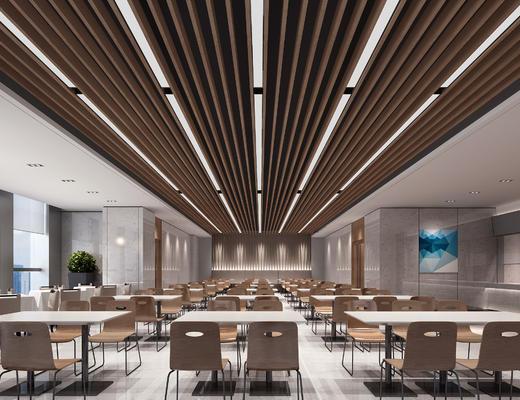 员工餐厅, 餐厅, 餐桌椅