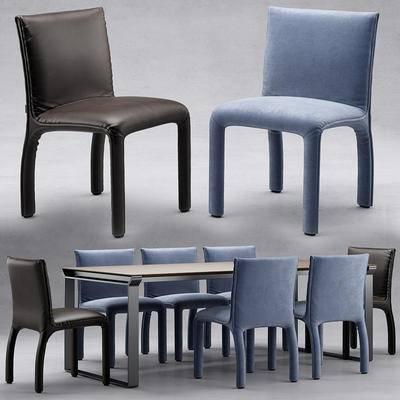 餐桌椅, 椅子, 桌子, 桌椅组合, 桌椅, 北欧