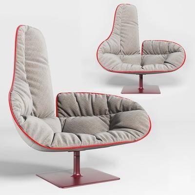现代休闲沙发, 现代, 沙发, 单人沙发