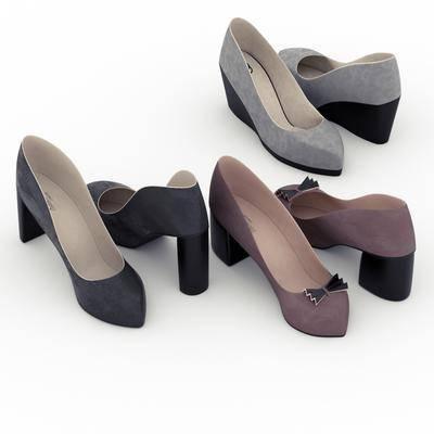 高跟鞋, 鞋子