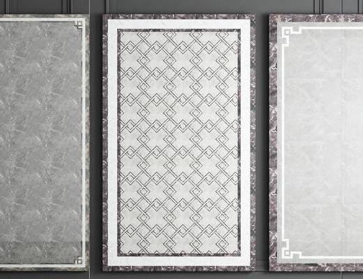 瓷砖拼花, 地砖, 新中式