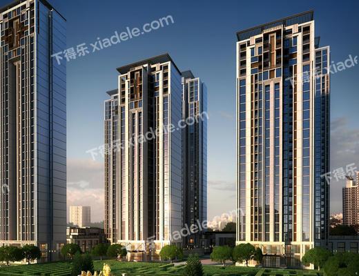 大厦, 建筑, 高楼, 住宅, 景观
