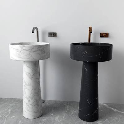 洗手盆, 洗浴组合