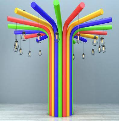 吊灯, 工业吊灯, 装饰品摆件, 园艺小品, 园林小品, 柱子, 圆柱子