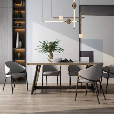 餐桌椅组合, 现代餐桌椅, 餐桌椅