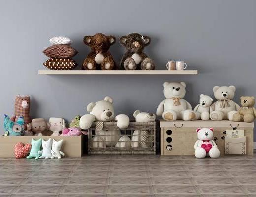 玩具组合, 玩具熊