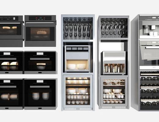 现代, 消毒柜, 柜架