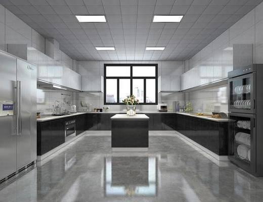 廚房, 櫥柜組合, 廚具組合, 冰箱組合, 餐柜組合, 現代