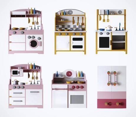 玩具, 厨房玩具, 玩偶, 游乐场