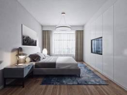 现代北欧卧室